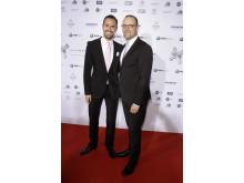 Bundesgesundheitsminister Jens Spahn mit Ehemann Daniel Funke