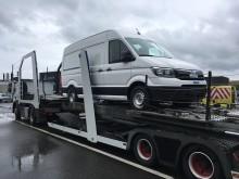 Den nye MAN TGE er endelig kommet til Danmark. Her er første bil ved at blive læsset af autotransporteren