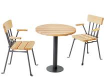 Bollnäs karmstol och bord, design Thomas Bernstrand
