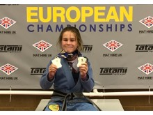Lois Marsh European Champion 1