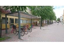 Cykelställ, modell Arc under tak, Nyköping