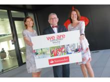 Santander_Eröffnung Santander Woche 2017