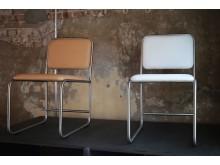 Weinbaums - Bürostühle - Leder und Edelstahl