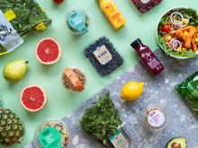 Greenfood erbjuder ett brett sortiment convenience-produkter