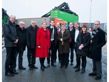 Infrastrukturministern såg Nässjös fördelar