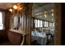 Salon der Uri (ältestes Dampfschiff der Schweiz) auf dem Vierwaldstättersee. Copyright: SGV Luzern By-line: swiss-image.ch/Peter Christensen.