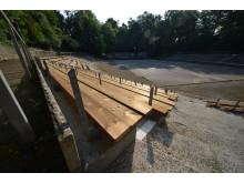 Sanierung mit Kebony: Freilichtbühne Killesberg bekommt neue Sitzplätze