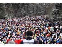 Vasaloppet 5 mars 2017 första backen efter starten