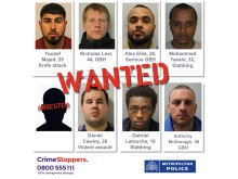Seven men wanted by police