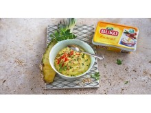 Fondue Dip mit Arla Buko® Ananas & Chili