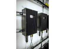 Solsträngsoptimerare i ett av byggnadens fläktrum_1