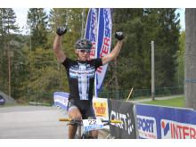 Carl Fredrik Hagen vinner Å i Heiane 2014