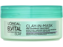 Elvital Extraordinary Clay pre mask