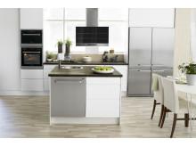 De nye kjøkkenventilatorene fra ASKO er elegante, effektive og svært stillegående