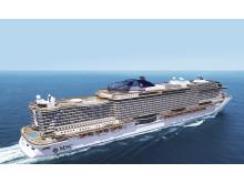 """MSC Cruises nye skibsprototype """"Seaside"""""""