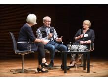 Podiumsdiskussion mit Bernd Heise und Hilde Eickhoff beim 10. Kongress der Deutschen Alzheimer Gesellschaft in Weimar