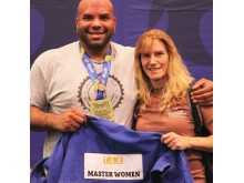 Carlos Melo & Karen Peters-Gilroy, BJJ California