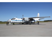 Russisk Antonov 30B (Foto: Søren Lindhardt, VFK)