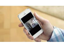 En Smart Cam ger kunden möjlighet att kontrollera att allt är som det ska vara hemma