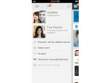 Screenshot LinkedIn Iphone5 Nav