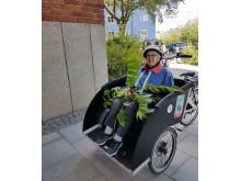 Cykeltur på Björkgården