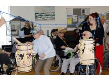 Fastelavnsfest på Langagergård Plejecenter
