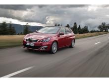 Sverigepremiär nya Peugeot 308_fram
