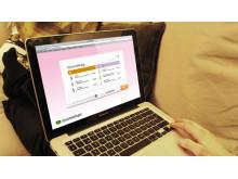 Transformator Designs koncept på webbtjänst