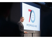 """Porsche will always be Porsche – the leading brand for exclusive, sporty mobility"", reinforces Blume."