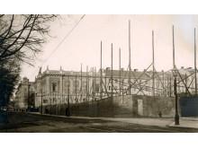 Röhsska museet under uppförande 1913