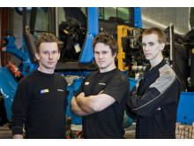 Serviceteknikerna som byggde Volvo L60G PCP hjullastare