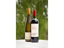 Ernst utvalda vita & röda vin