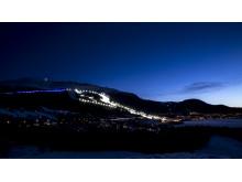 Åre National Arena - kvällsvy