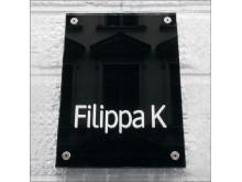 Akrylskylt Filippa K