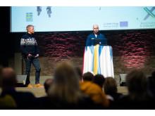 Tor Arne Hetland och Rikard Grip