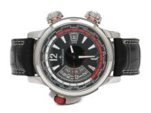 Klockor 4/10, Nr: 41, JAEGER-LE COULTRE, Master Compressor Extreme W-Alarm