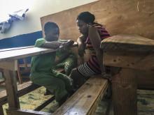 Guylande Mésadieu. Barnrättshjälte från Haiti stöttar barn i fängelse