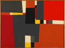 Utsnitt. Gunnar S. Gundersen, Maleri, 1958