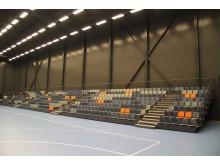 Teleskoptribune og tribunesæder Bauhaus Arena Roskilde