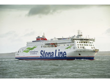 She's here!!! Stena Estrid arrives in Holyhead