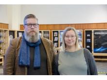 Simon Matti, professor i statsvetenskap vid Luleå tekniska universitet och Charlotta Söderberg, forskare i statsvetenskap vid Luleå tekniska universitet