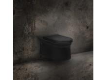 Cono WC-vagghangd matt svart