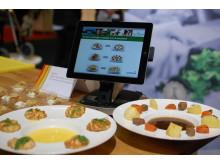Vi bjuder på smakprov ur måltidskonceptet M'ama framtaget av Sodexo i Italien