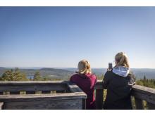 Skinnaråsen - ett av många besöksmål i Leksand. Foto: Visit Dalarna