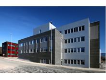 Det nye teknologibyget ved UiT i Tromsø,