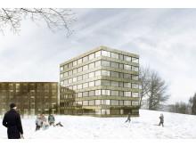 Frösö Park Hotel bygger ut - skiss