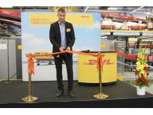 Ted Söderholm inviger Västberga terminal