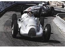 Auto Union Type D i aktion til Goodwood Festival of Speed