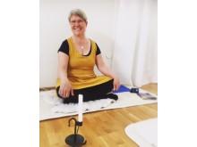 Yogalärare Christin Ekstrand Simryd