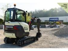 Volvo EX2 - minigrävare